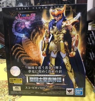 """Saint Seiya"" Original BANDAI SPIRITS Tamashii Nations Saint Cloth Myth EX Action Figure - Scorpio Milo Saintia Sho Color ver. 2"