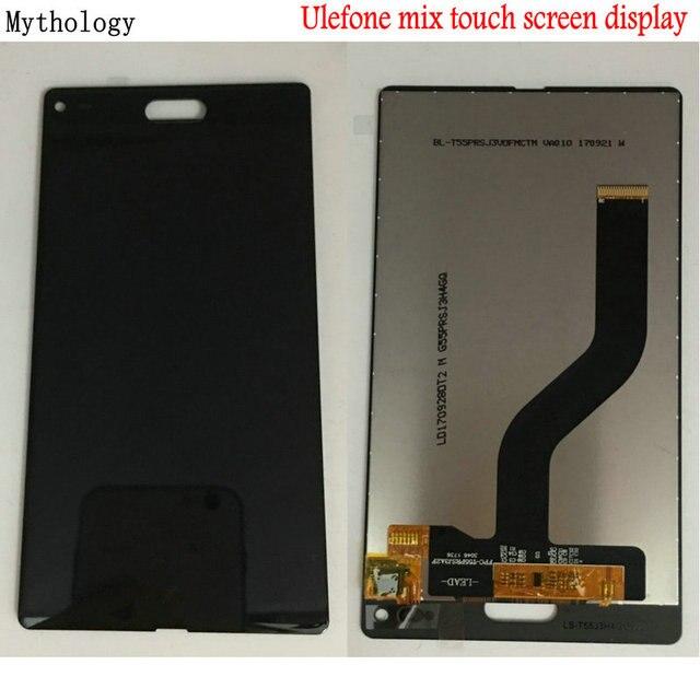 Ulefone Mix Doogee Mix Mix 2 Mix Lite dokunmatik ekran cep telefonu yedek sayısallaştırıcı dokunmatik Panel lcd