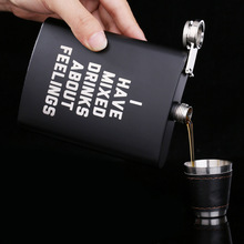 YOOAP Stainless Steel Hip Flask Set Best Man Gift Box Packing Luxury Alcohol Hip Flasks Whiskey Wine Bottles Drinkware  Gift