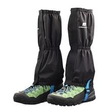 Унисекс водонепроницаемые леггинсы гетры для ног походные лыжные ботинки обувь для путешествий ветрозащитные зимние охотничьи альпинистские гетры