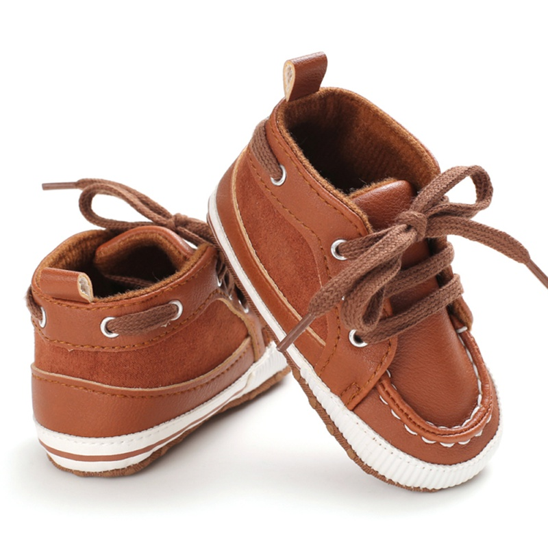 Newborn Baby Girl Boy Leather Shoes Infant First Walkers Kid Casual Cotton Shoes