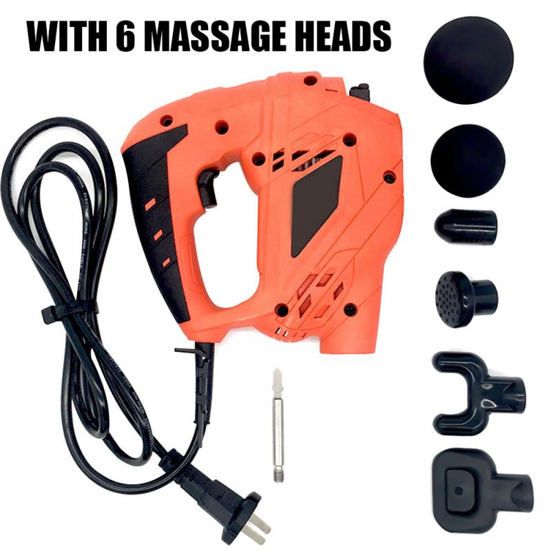 Muscle Relaxation Massage Gun Body Massager Electric Vibrating Muscle Massager Guns Relax Muscle Tools Fitness Equipments 2019