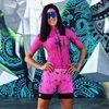 Roupa de ciclismo feminina manga curta, equipamento de equipe corporal sexy de tri skinsuit, roupas de ciclismo personalizadas, triathlon, 2019 26