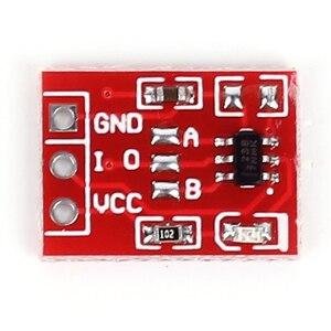 Image 2 - 10 pièces TTP223 Module de commutateur à clé tactile bouton tactile commutateurs capacitifs autobloquants/sans verrouillage commutateurs tactiles capacitifs