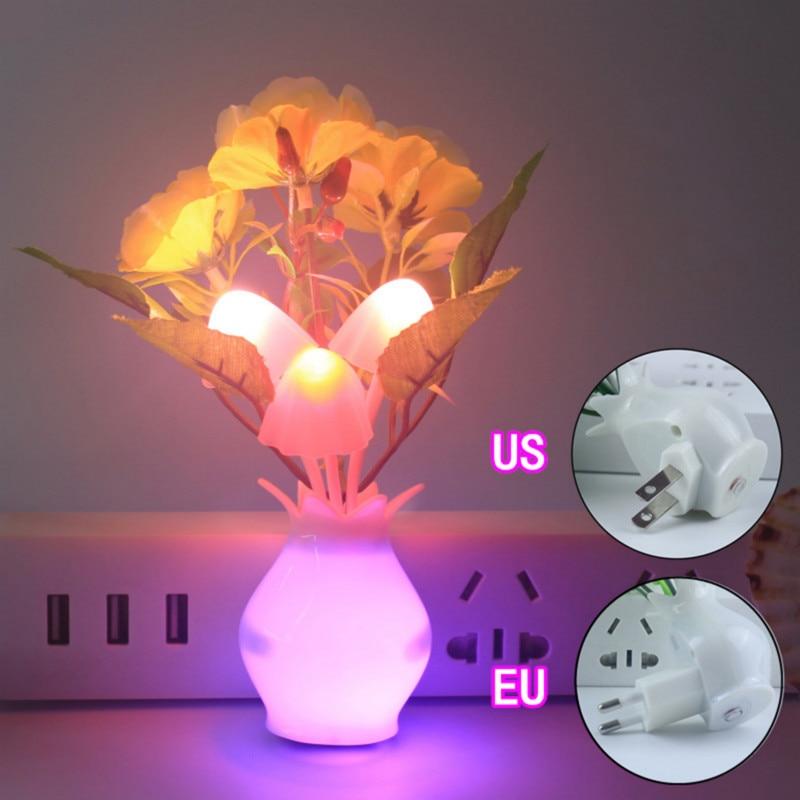 LED Smart Sensor Plug-in Wall Lamp Motion Sensor Household Illumination Nightlight Home Decor Children Planetarium Night Lamp