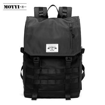 MOYYI Molle Mochila de viaje a prueba de golpes para hombres, Mochila ligera de gran capacidad para viajes, mochilas antirrobo para hombres