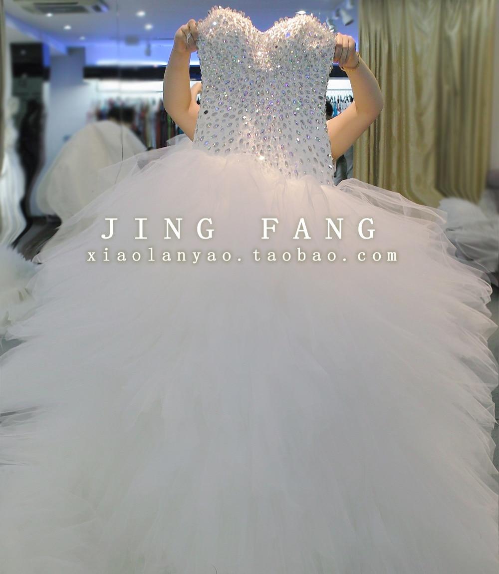 Casamento Romantic Sexy New Fashion Long Ball Crystal Vestido De Novia Sweetheart 2018 Bridal Gown Mother Of The Bride Dresses