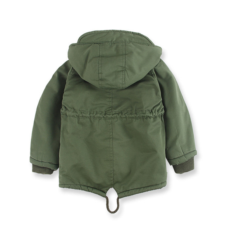 Benemaker Children Winter Outdoor Fleece Jackets For Boys Clothing Hooded Warm Outerwear Windbreaker Baby Kids Thin Coats YJ023 6