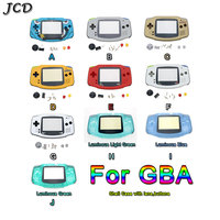 JCD Housing Shell Case Cover+Screen Lens Protector +Stick Label for Gameboy Advance For GBA Console with Button set|Cases| |  -