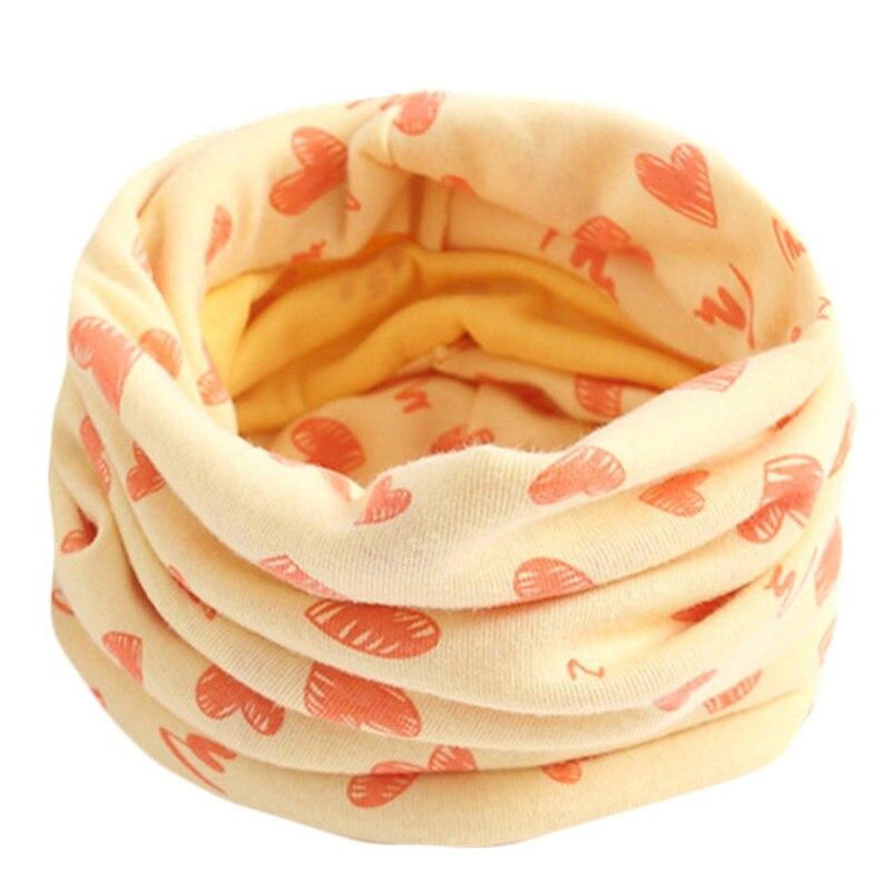 Весенний детский хлопковый шарф, теплый шарф для маленьких детей, осенне-зимние шарфы с героями мультфильмов для мальчиков и девочек, детский воротник с круглым вырезом, волшебный шейный платок - Цвет: 55