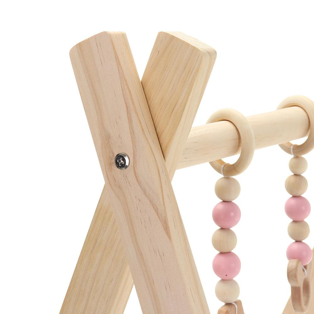 Toy Rack-Accessories Room-Decor Wooden Play Nursery-Sensory Nordic Gym-Toy Photography-Props