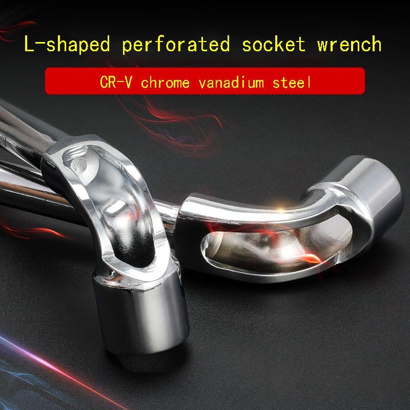 L-tipo chiave a bussola esagonale set di chiavi chiave strumento di strumento di auto strumento di riparazione 6/10/12/13mm acciaio al cromo vanadio di produzione