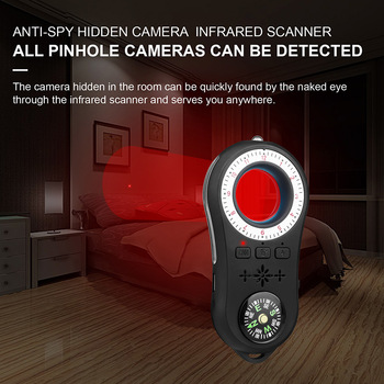 Anti Spy Surveillance Camera Detector Wireless Signal Anti-covert Camera Finder 1