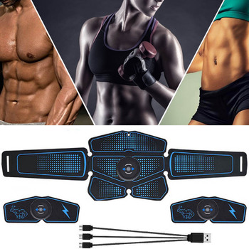 Electric Press Simulator Massager Abdominal Muscle Trainer Sports Exercise Fitness Equipment Training Apparatus Workout Gym Home electric training machine abdominal arm muscle trainer usb rechargeable electrostimulator muscular exercise gym equipment home
