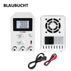 BLAUBUCHT Laboratory DC Power Supply 30V 10A Adjustable Switching Bench Source Digital Voltage And Current Regulator 30 V Source