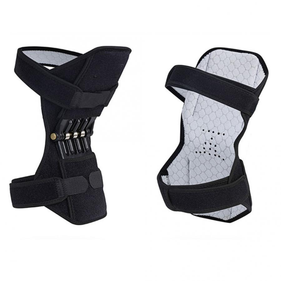 Image 5 - 2pcs Knee Brace Spring Lift Knee Boosters Joint Support Knee Pads for Mountaineering Squat Lift Knee Orthopedic Brace SupportsBraces & Supports   -