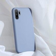 For Samsung Galaxy Note 10 Plus Case Liquid Silicone TPU Sof