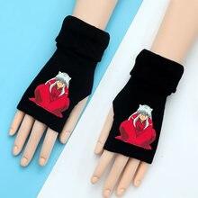 Японское аниме инуяся перчатки без пальцев вентиляторы для маленьких