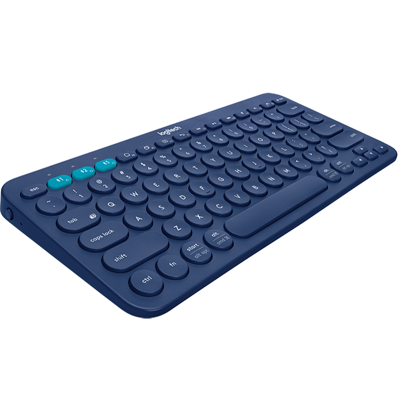 Logitech K380 Multi Device Bluetooth Wireless Keyboard Black Blue Pink White Red Windows MacOS Android IOS