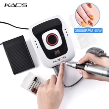 kads 40w 35000rpm Apparatus for Manicure Electric Nail Drill Machine Manicure Machine with Milling Cutter Nail File Art Tool Set