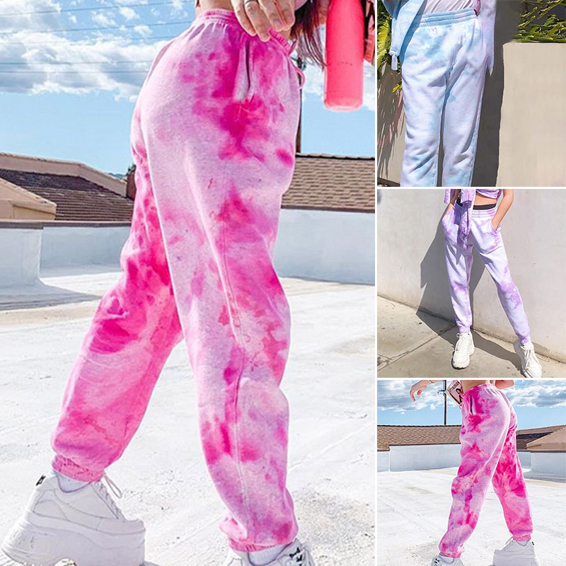 2020 New Womens Joggers Trousers Tracksuit Bottoms Jogging Gym Casual Harem Pants Fashion Loose Street Style Trousers