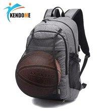 Açık erkekler spor spor çantaları basketbol sırt çantası okul çantaları genç erkekler için futbol topu paketi Laptop çantası futbol Net spor çantası