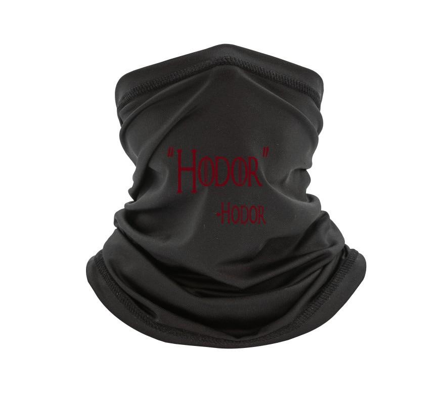 Магазин бунапы-новый способ 273-Унисекс T-шарф Hodor Hold The Door «Игра престолов»-Уиллис T-шарф-толстовки-шарфы с длинными рукавами-