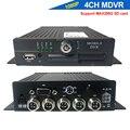 Автомобильный видеорегистратор CCTV, 4 канала, 1080P, 720P, Mdvr, поддержка SD-карты 256 ГБ, мобильный видеорегистратор для грузовика, автобуса, такси