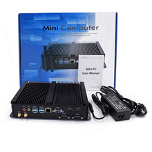 Intel Core i7 4500U 8250U Industrial Desktop 1007U Win10 Linux i3 Minipc Intel NUC 4K HD RS232 RS485 i5 5250U Portable PC 8250U