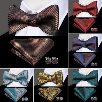 Men's Butterfly-Self Luxury Bowties