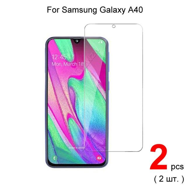 Di vetro Per Samsung Galaxy A40 2.5D 0.26 millimetri Premium Protezione Dello Schermo In Vetro Temperato Protector Per Samsung A40 di Vetro