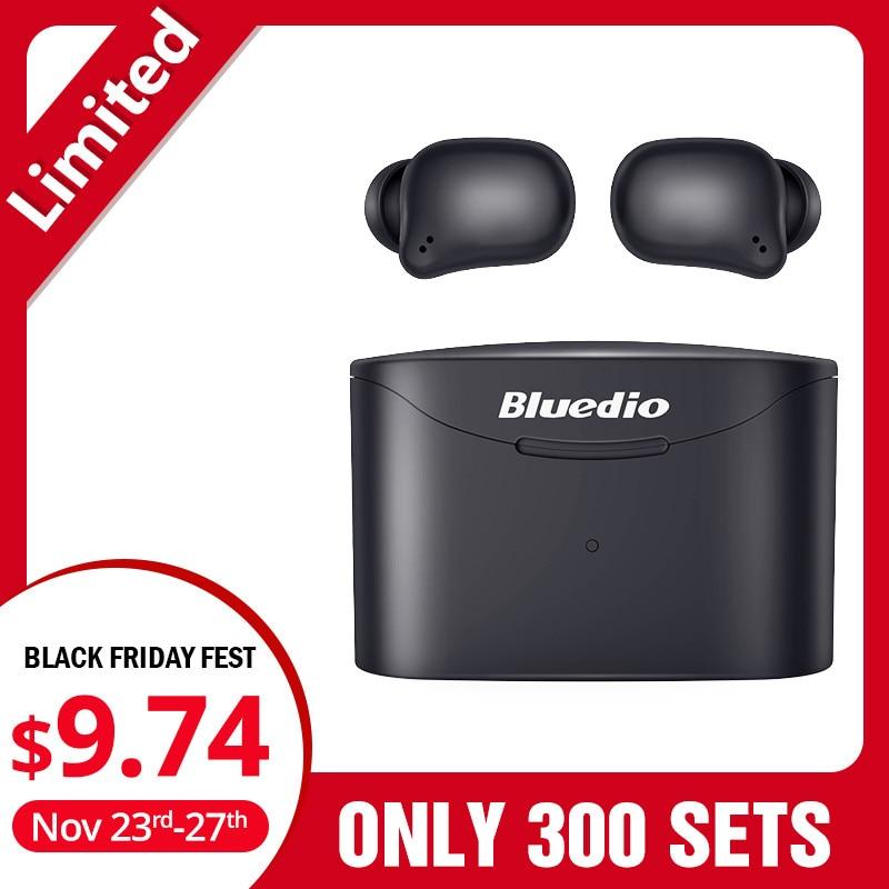 Bluedio T-elf 2, Bluetooth Earphone, TWS Wireless Earbuds, Waterproof, Sports Headset, Wireless Earphone, In Ear, Charging Box
