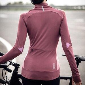Image 4 - Santic cyclisme vestes hiver polaire thermique manteau automne échauffement vélo coupe vent coupe vent vtt maillots taille asiatique L9C01104