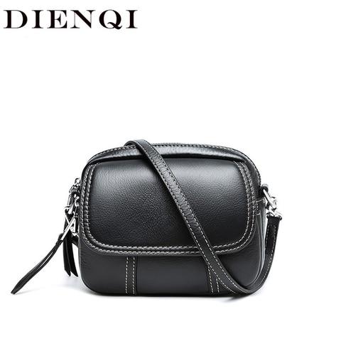 Bolsa do Mensageiro para Mulheres Bolsa de Moda de Luxo Couro Genuíno Marca Designer Preto Corpo Cruz Bolsa Ombro Senhoras Mão