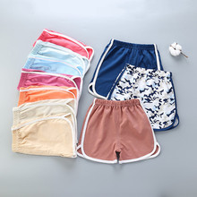 Baby Shorts Clothing Girls Beach Cotton Summer Children Casual Hot Boys Candy-Color Infant
