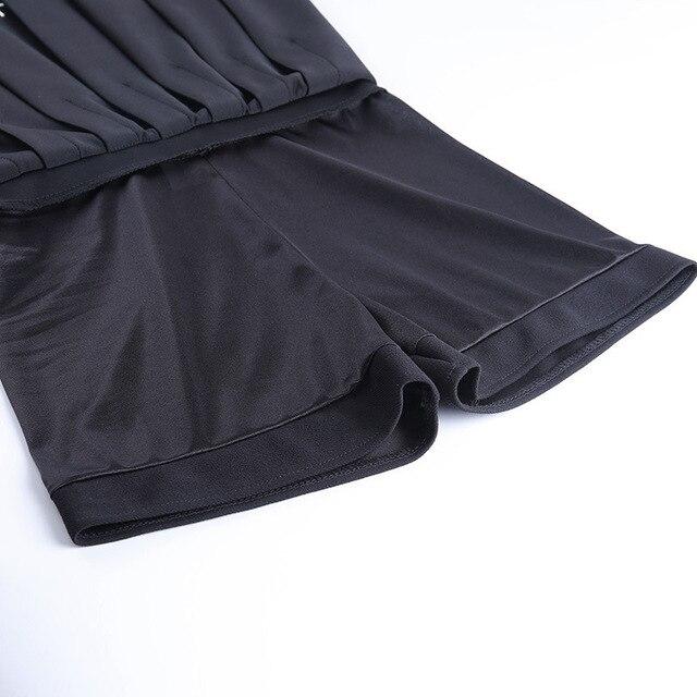 JIEZuoFang gothique femmes sexy noir une ligne jupe plissée taille haute croix broderie élégant harajuku bas jupes streetwear