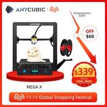 Anycubic I3 Mega Upgrade Mega X 300*300*305Mm 3d Printer Grote Plus Afdrukken Size Meanwell supply Ultrabase Impresora 3d