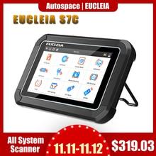 EUCLEIA TabScan S7C OBD 2 Automotive Scanner Professional Car Diagnosis DPF EPB TPMS Oil Service Reset ODB2 Car Diagnostic Tool