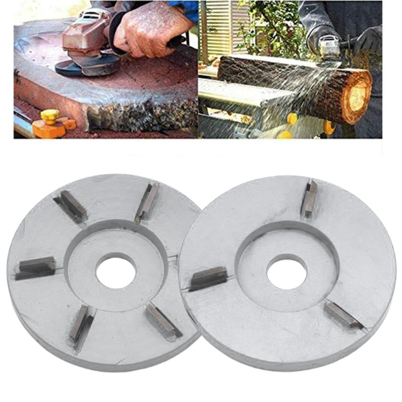 90mm Diameter Rotary Planer Power Wood Carving Disc Angle Grinder Hexagonal Blade Attachment 22mm Bore Tool Accessories