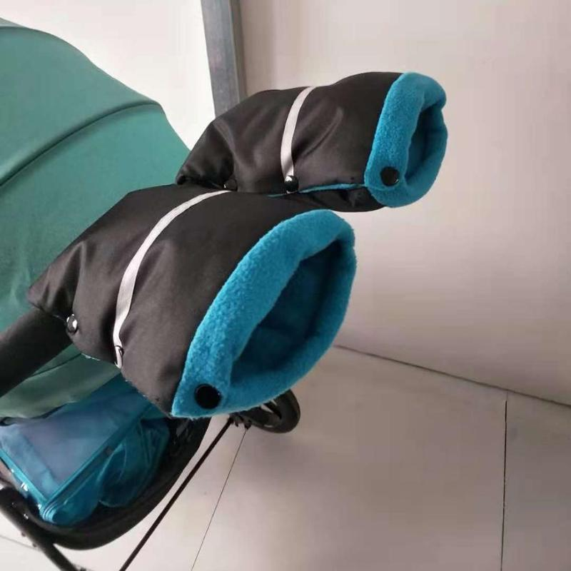 Windproof Gloves Hand Cover High-quality Portable Comfortable Soft Surface Baby Stroller Accessories Warm Thicken Mittens