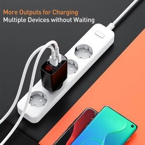 Image 4 - Baseus cargador USB tipo C de 18W para iPhone 11 Pro Max, carga rápida 3,0 PD3.0, FCP AFC, Huawei y Samsung
