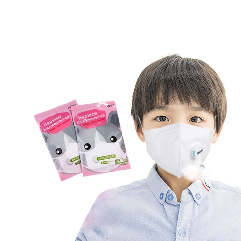 Anti-Fog Dust Mask Child PM2.5 Anti Face Mouth Masks Healthy Air Filter Dust