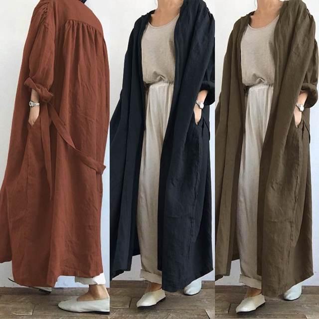 Long Cardigan Coat 5