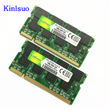 New DDR Laptop Memory Ram SO-DIMM DDR1 400 333 MHz / PC-3200 PC-2700 200Pins 512MB 1GB For Sodimm Notebook Memoria Rams