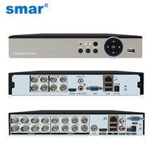 Smar – enregistreur vidéo DVR hybride 5-en-1, 8 canaux, 16 canaux, 5 m-n, pour caméra analogique AHD, caméra IP 5mp, P2P, NVR, système de vidéosurveillance H.265, nouveau