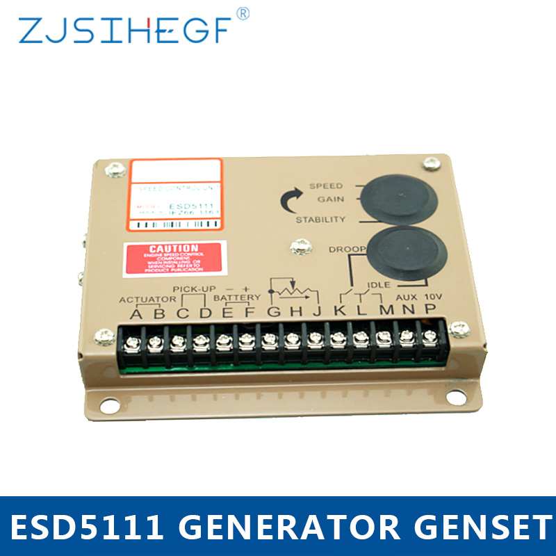 Electronic Engine Speed Controller Governor Unit For ESD5111 Diesel Generator Genset Parts