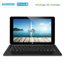Alldocube iWork10プロタブレット10.1インチのram 4ギガバイト + rom 64ギガバイトのintelチェリートレイルWindows10 + アンドロイド5.1デュアルシステム1920*1200のips wifi