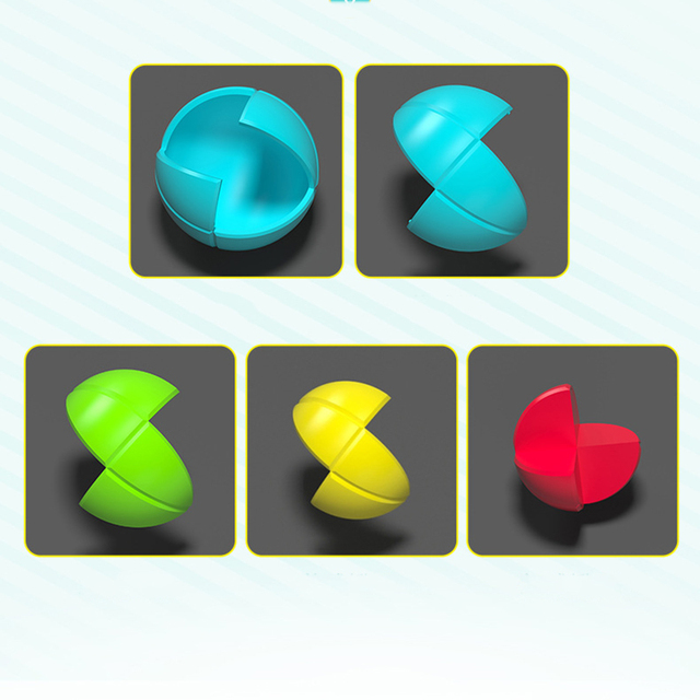 Jeu de museau sagesse balle magique jouet Cubo Infinito infini Cube Brinquedos Menino Educativo Anti trimestres boule magique DD60MC