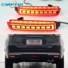 2 шт. светодиодный задний противотуманный фонарь для Infiniti FX35 FX37 FX50 2009 - 2013 водить автомобиль бампер светильник тормозной светильник отражате...