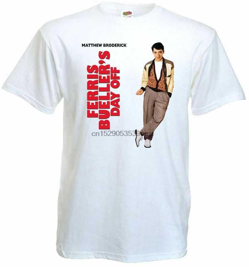 Ferris Bueller Hari V.1 T-Shirt Poster Semua Ukuran S...5Xl